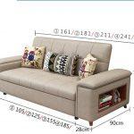 ghế sofa giường bằng da cao cấp thông minh chất lượng
