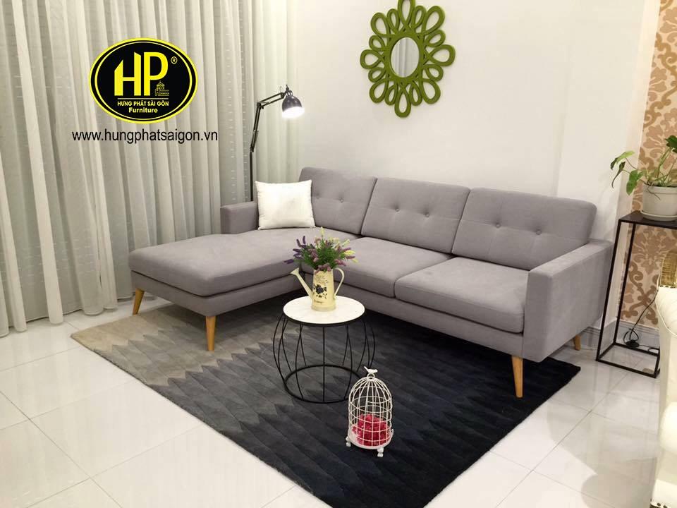 Sofa chất liệu vải với nhiều màu sắc thu hút