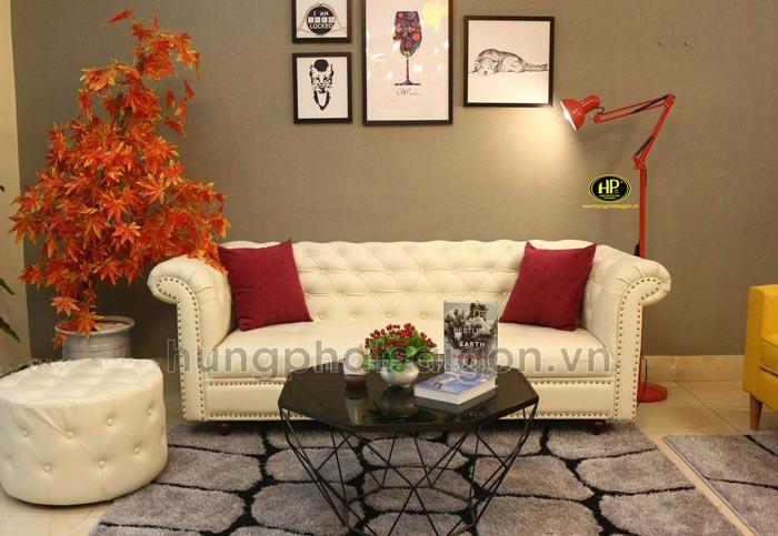 Ghế sofa spa thiết kế tân cổ điển