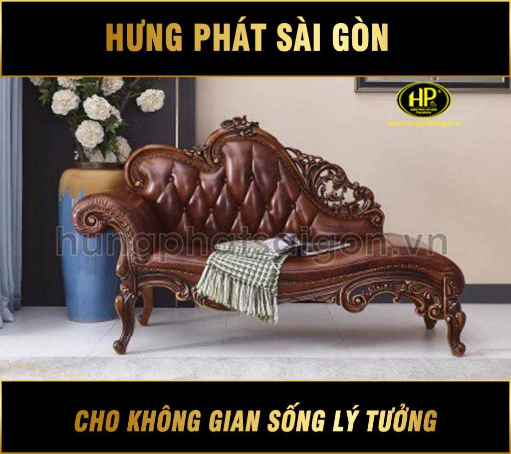 Ghế sofa thư giãn tân cổ điển TG-62