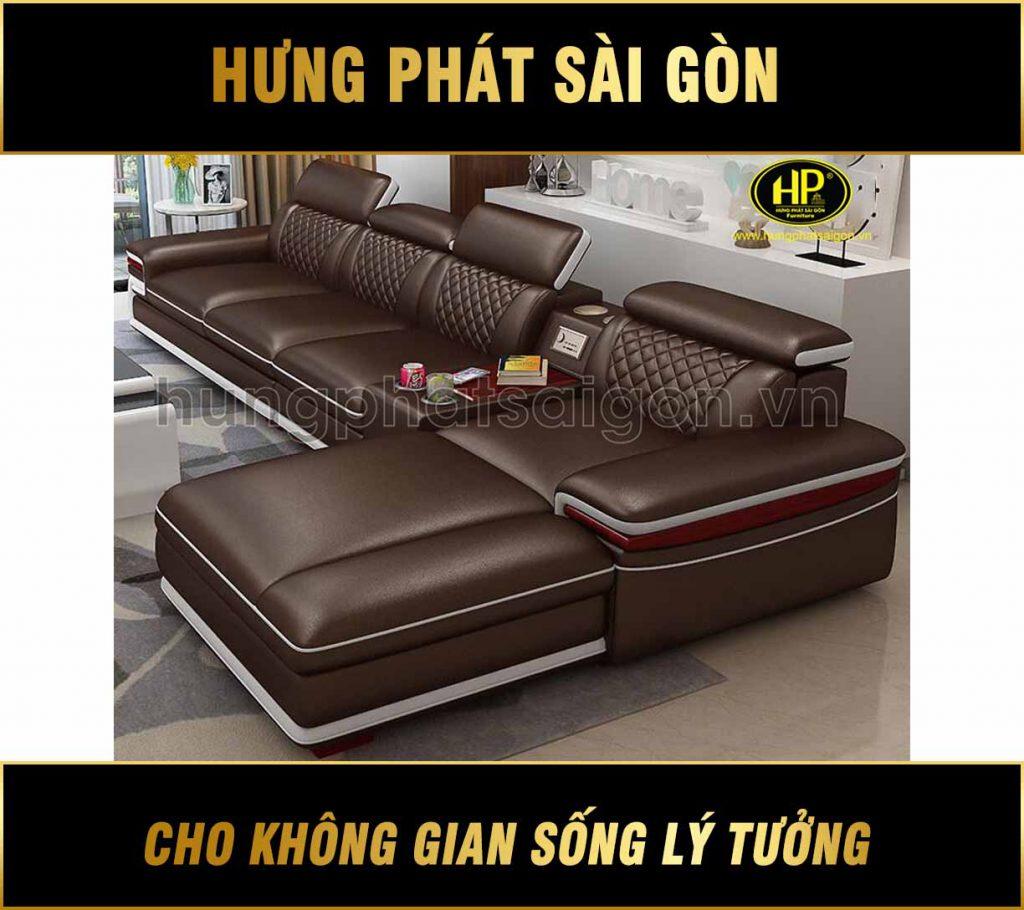 sofa da cao cấp chính hãng