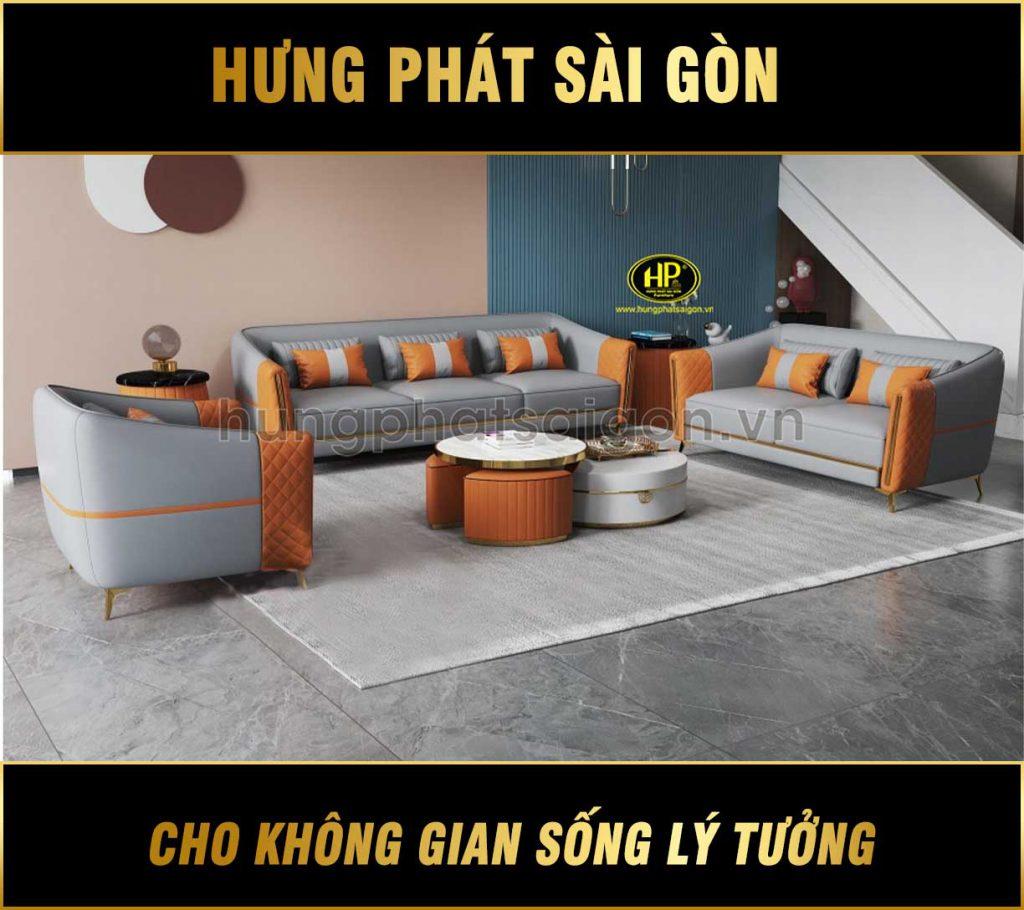 Bộ 3 ghế sofa nhập khẩu hiện đại NK-14