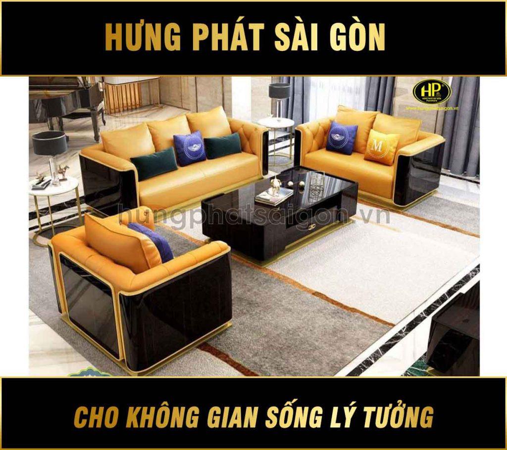Bộ 3 sofa cao cấp nhập khẩu NK-03