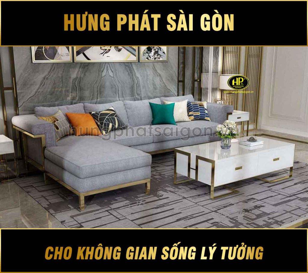 Ghế sofa vải cao cấp nhập khẩu NK-06