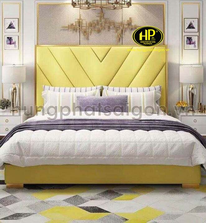 Giường da cao cấp GD-12
