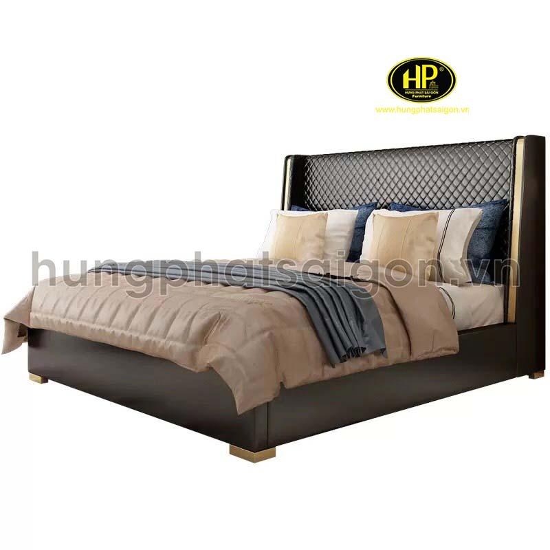 Mẫu giường da hiện đại cao cấp GD-14