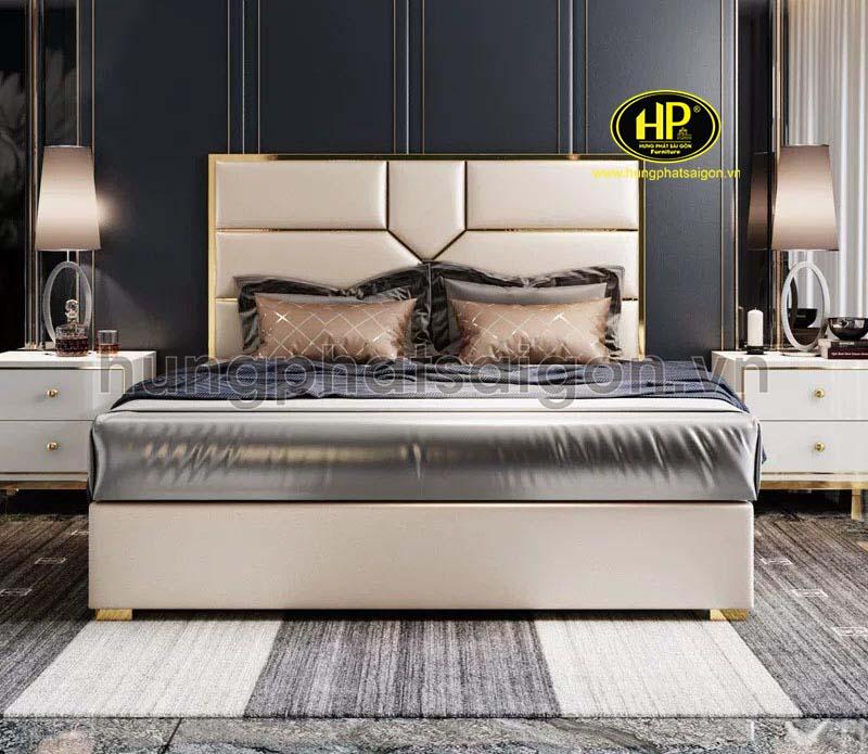 Phong cách thiết kế giường da sáng tạo GD-17