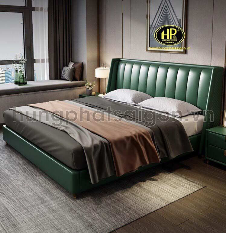 Phong cách trẻ trung với giường da GD-13
