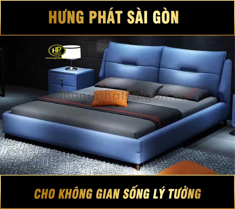Phong cách trẻ trung với giường da GD-21