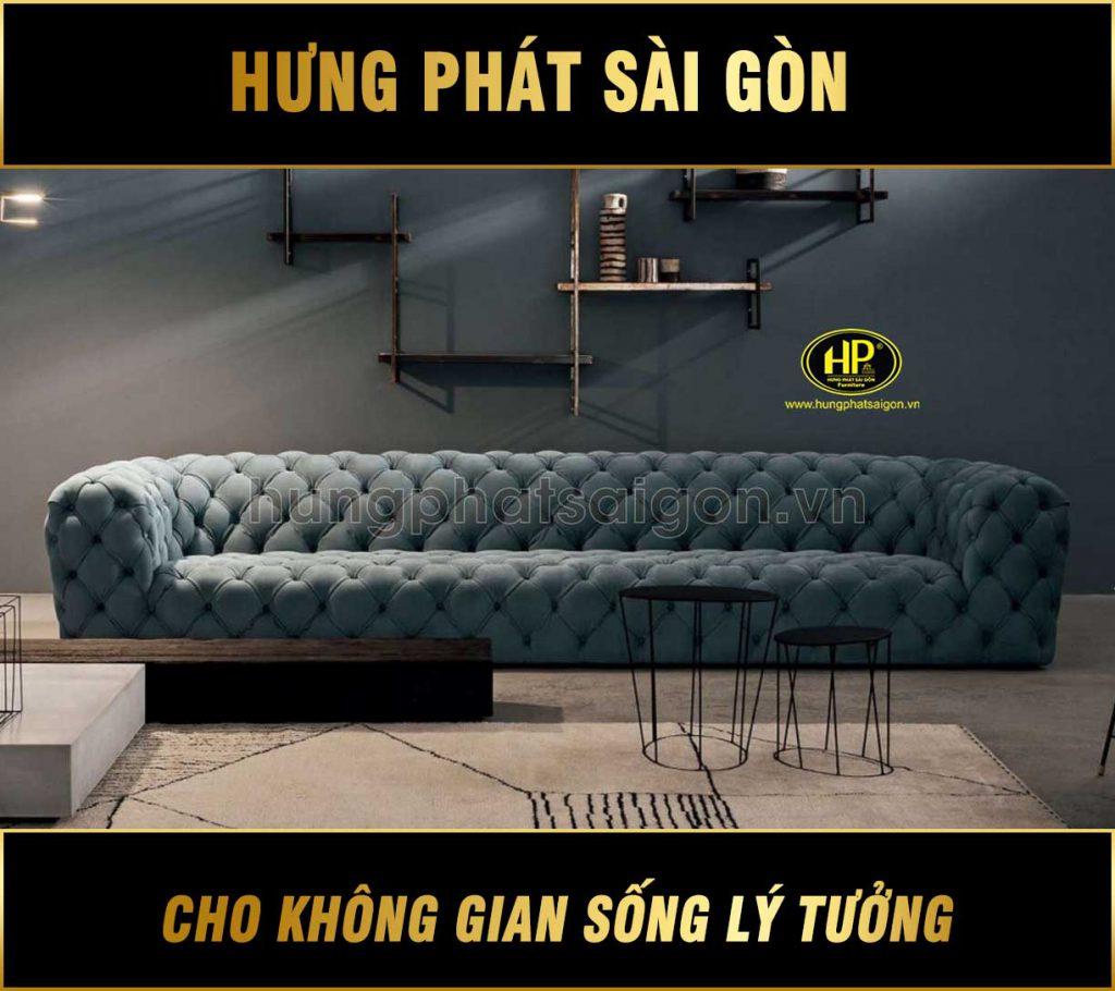 Sofa băng da cao cấp nhập khẩu NK-11