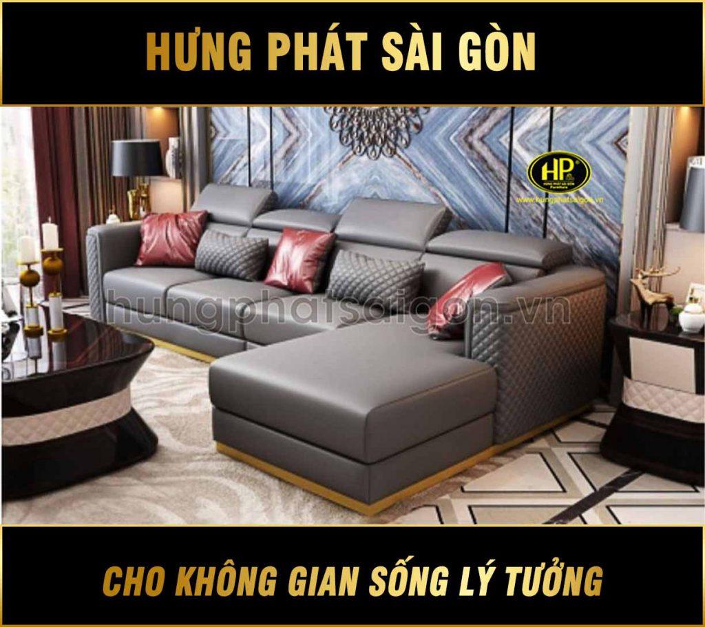 Sofa góc cao cấp nhập khẩu NK-10