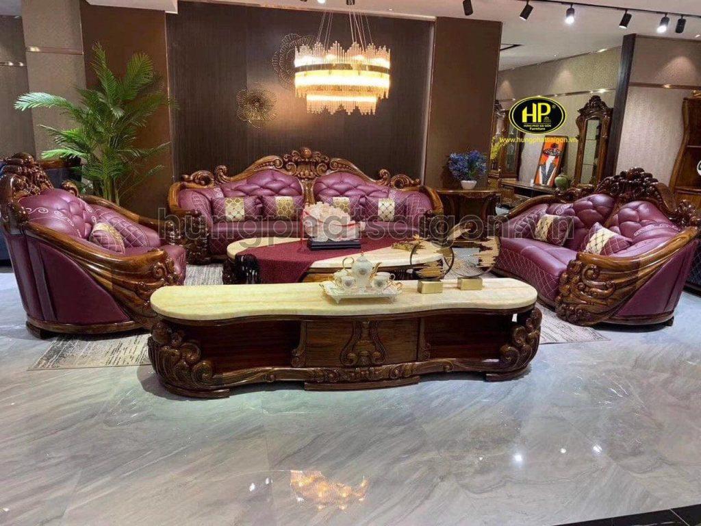 ghế sofa tân cổ điển cao cấp nhập khẩu