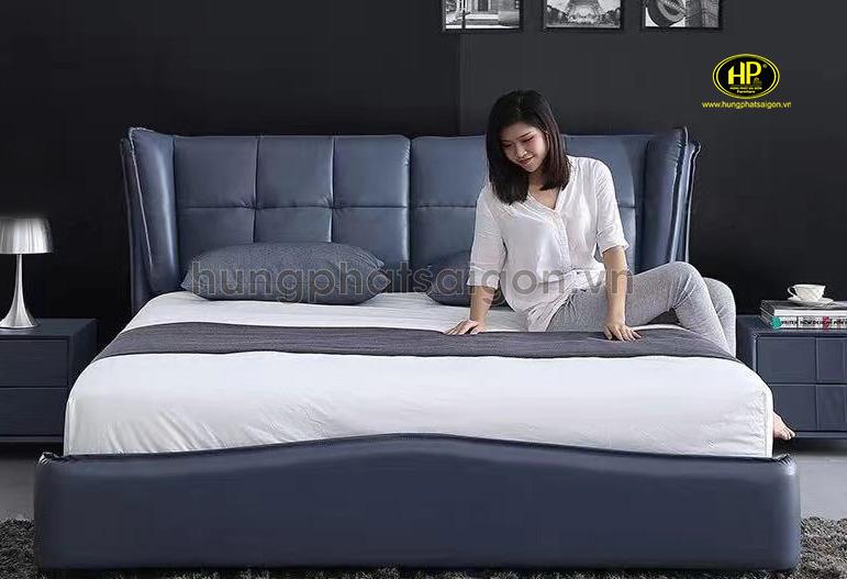 giường ngủ bọc da uy tín chất lượng