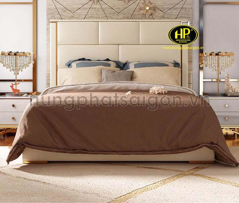 giường ngủ bọc da nhập khẩu