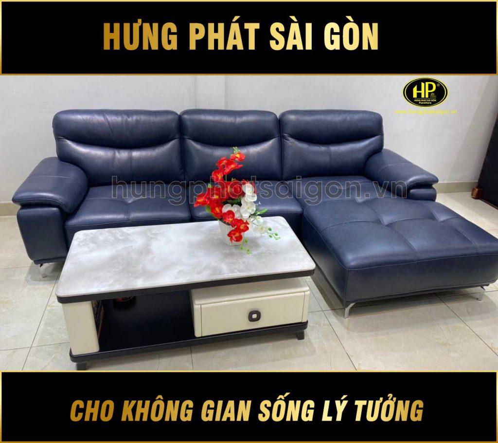 Sofa da bò nhập khẩu H-8275X