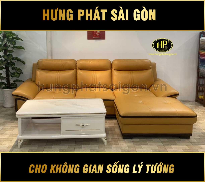 Ghế sofa da bò thật G-2020