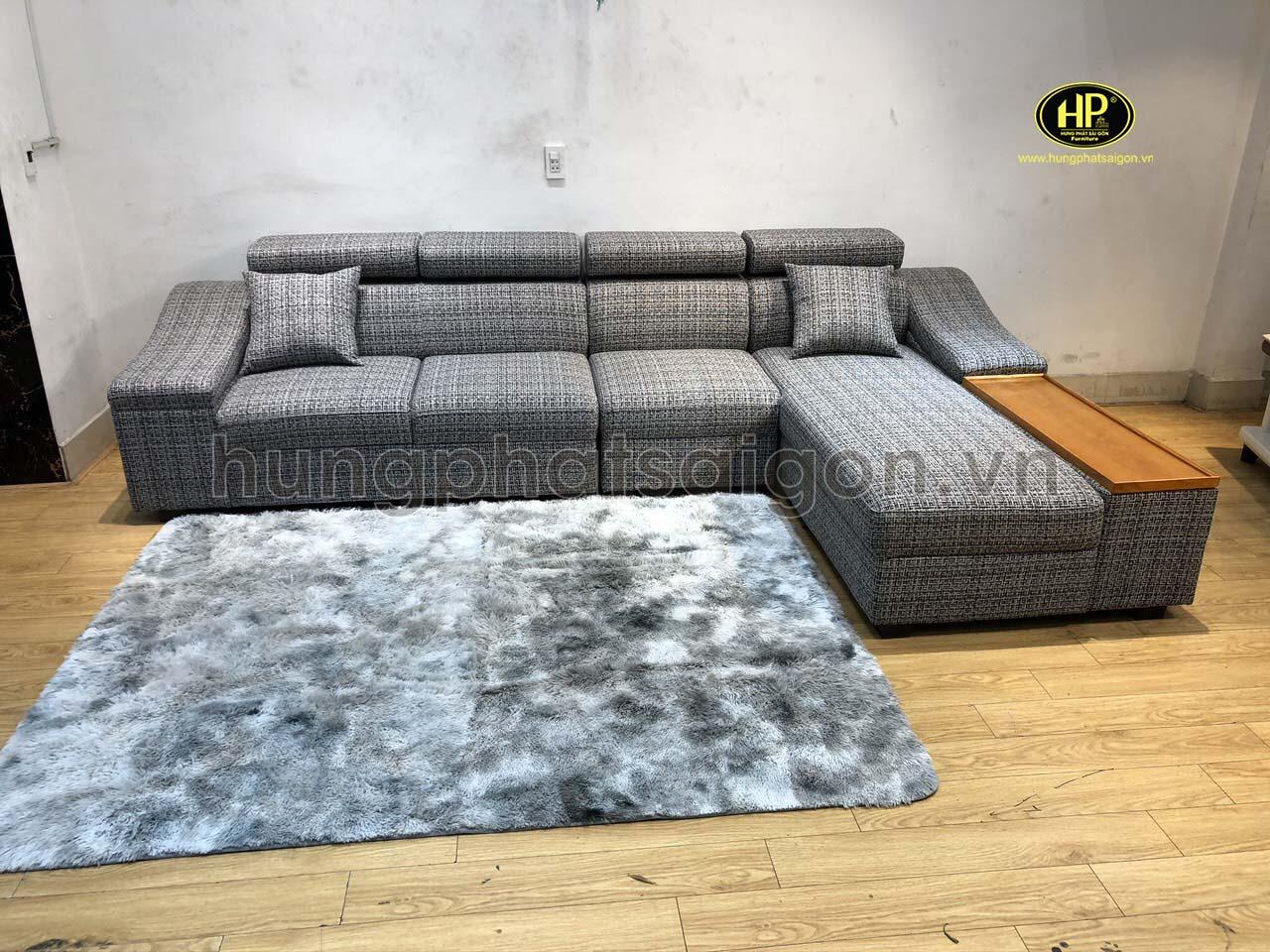 Ghế sofa góc vải thanh lý cuối năm TL-92