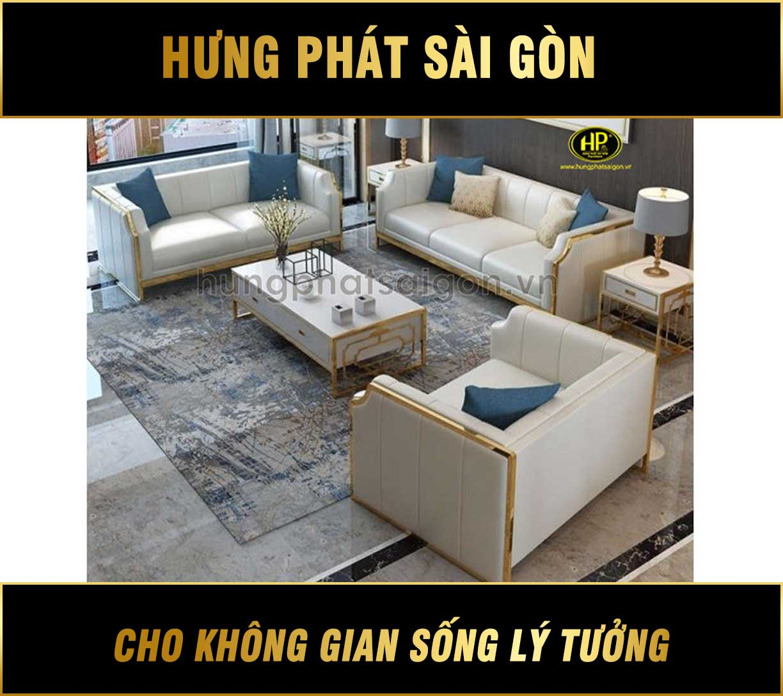 Bộ 3 ghế sofa cao cấp nhập khẩu NK-29