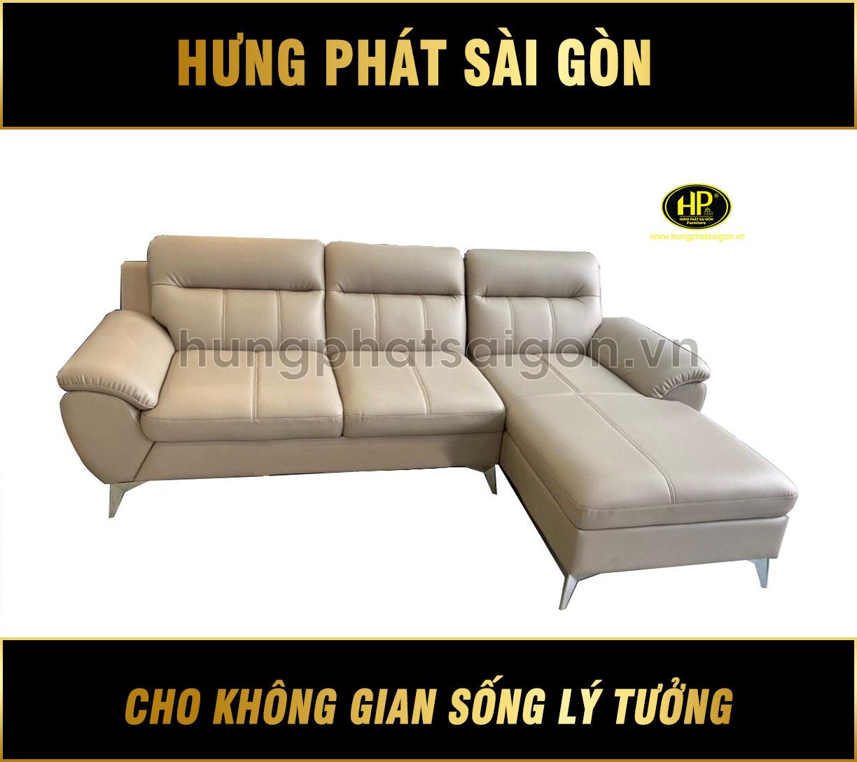 Sofa da hiện đại cho phòng khách HD-54