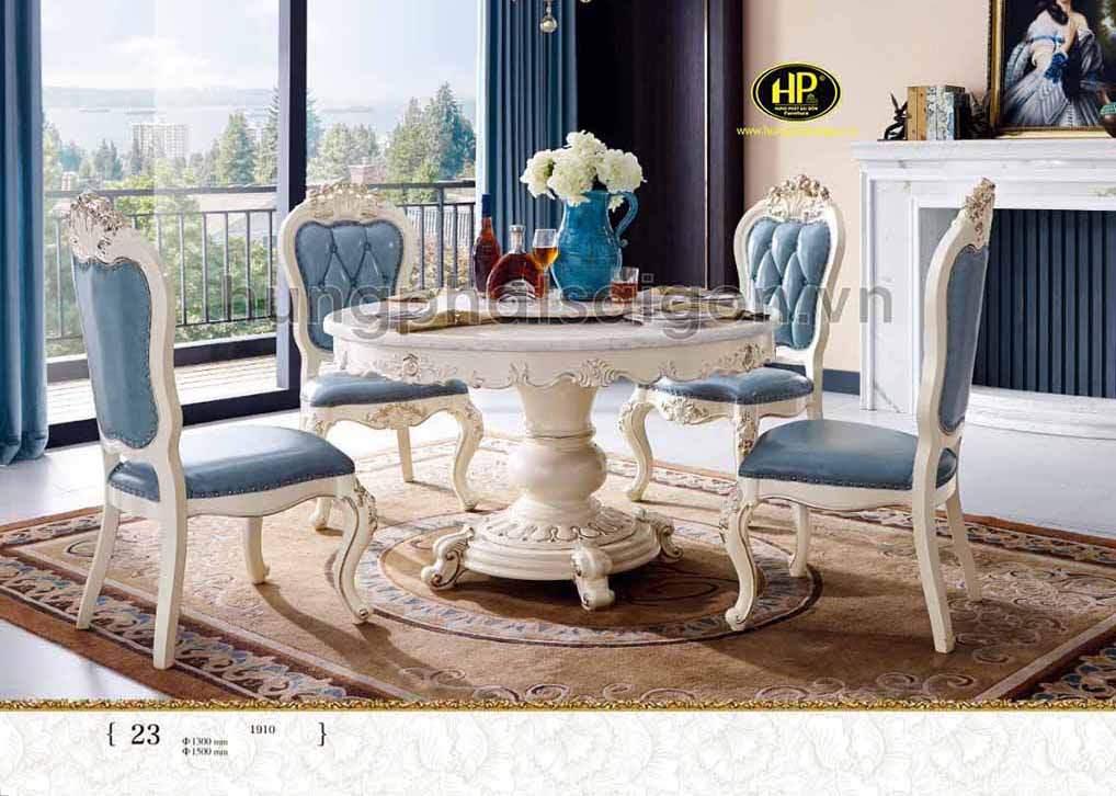 Vẻ đẹp đẳng cấp của bàn ăn phong cách sang trọng