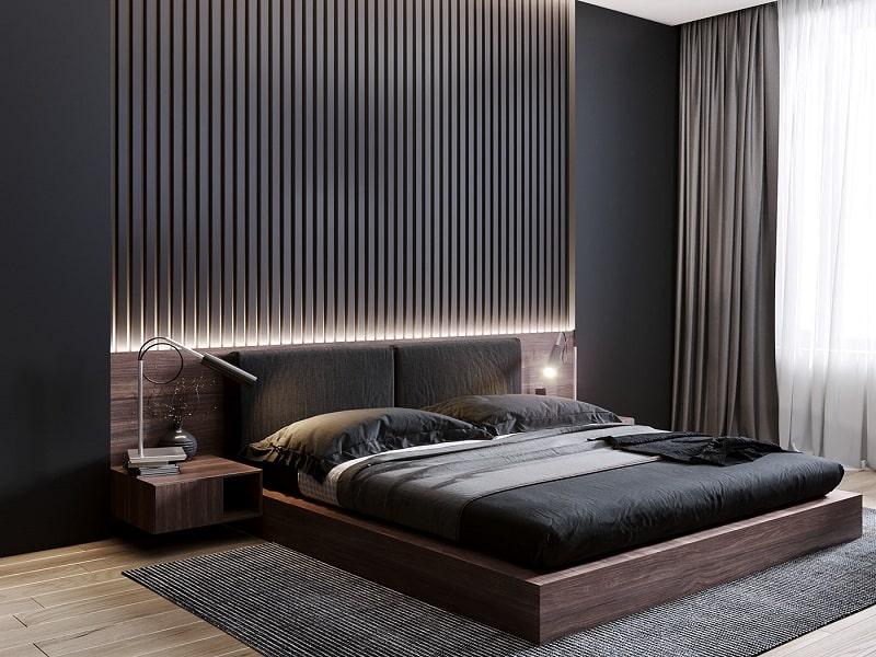Giường ngủ thiết kế hiện đại, tiện nghi cho người dùng