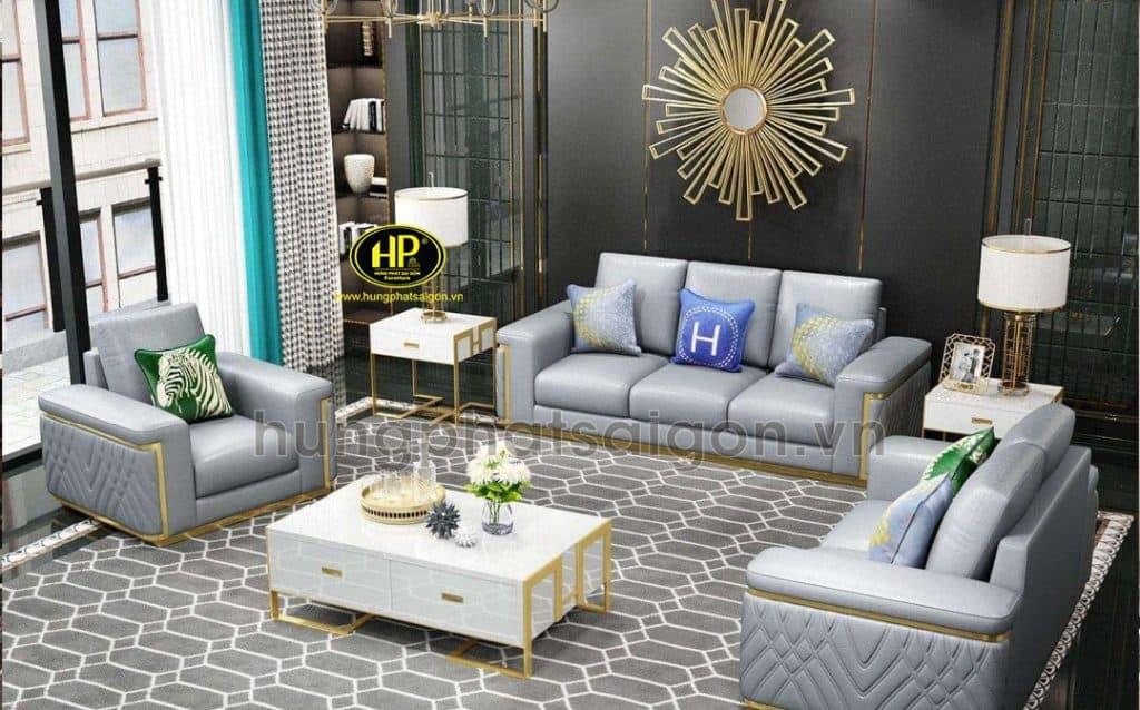 Sofa cao cấp được nhiều gia đình yêu thích