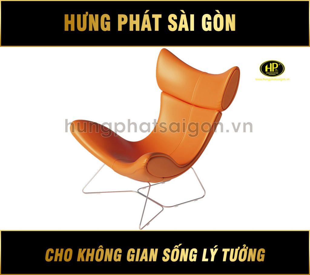 sofa đơn chân inox DN-602