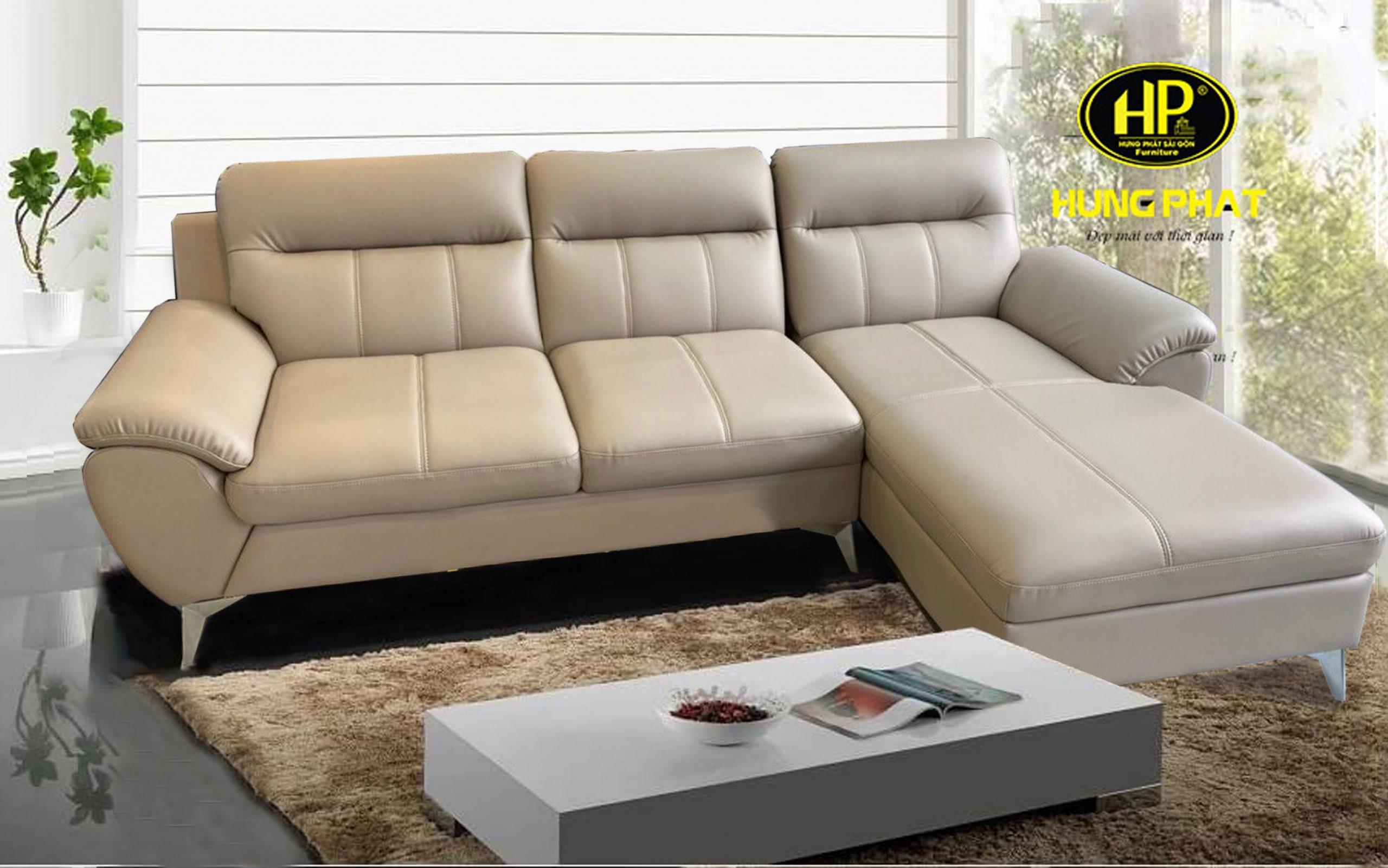 sofa da hiện đại HD-54