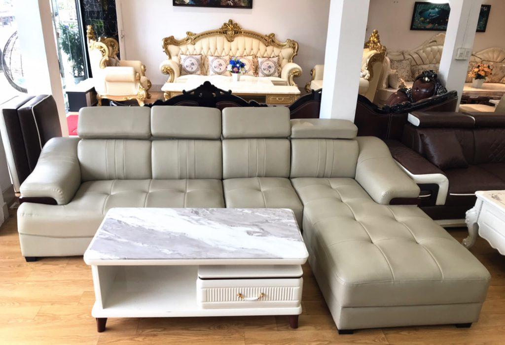 Ghế sofa da Hàn Quốc thanh lý TL-19