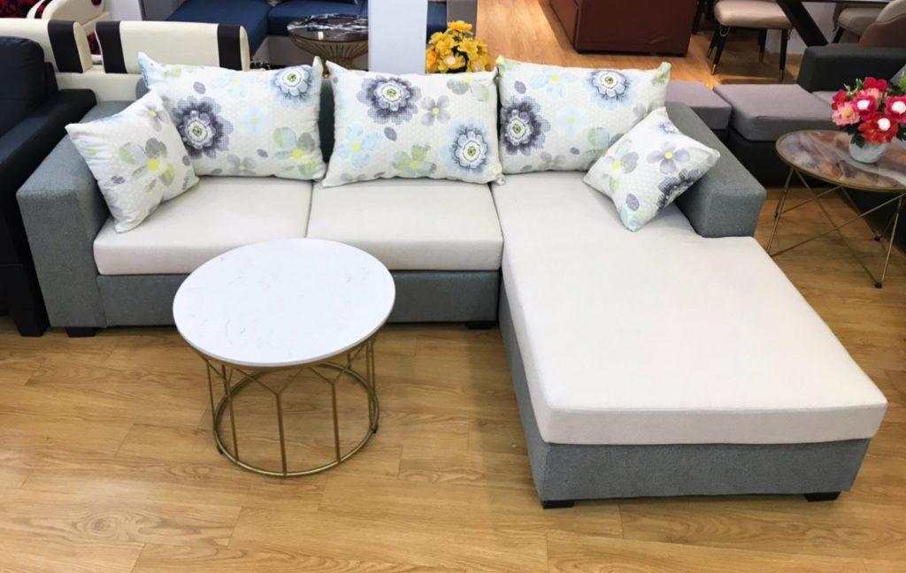 Ghế sofa góc vải thanh lý TL-23