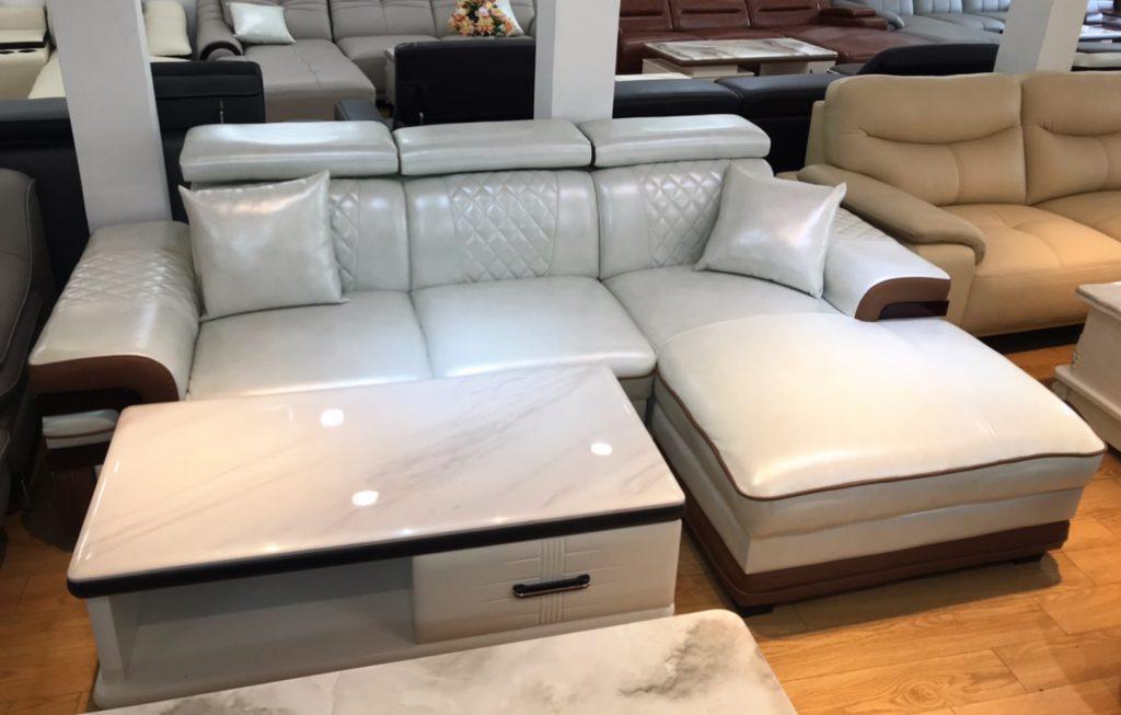 Sofa da thanh lý TL-25