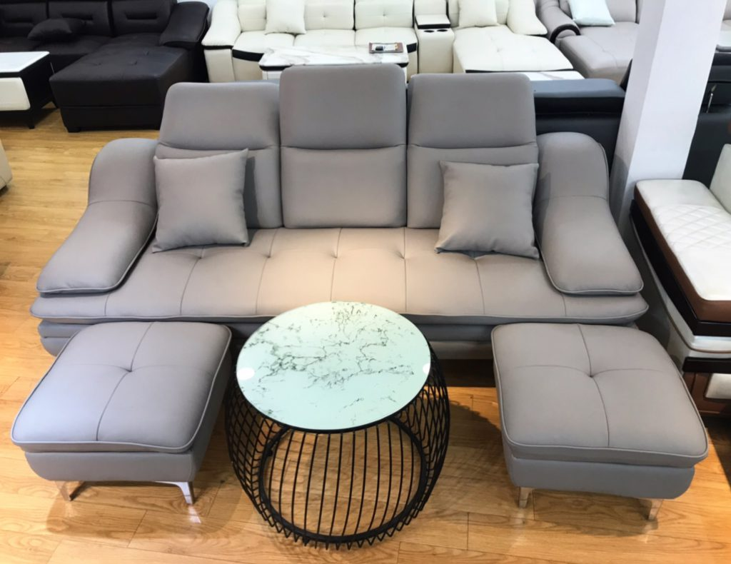 Sofa băng da cao cấp thanh lý TL-26