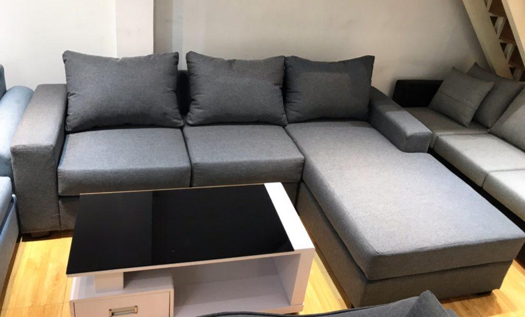 Sofa góc vải thanh lý TL-38