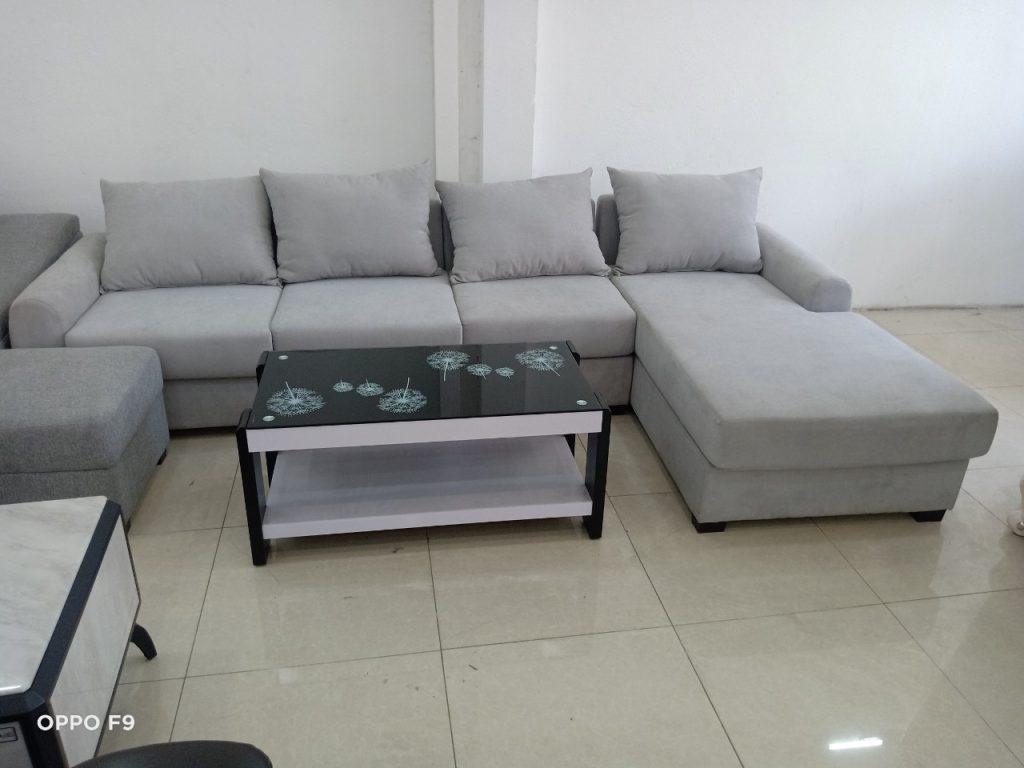 Sofa góc vải hiện đại thanh lý TL-63