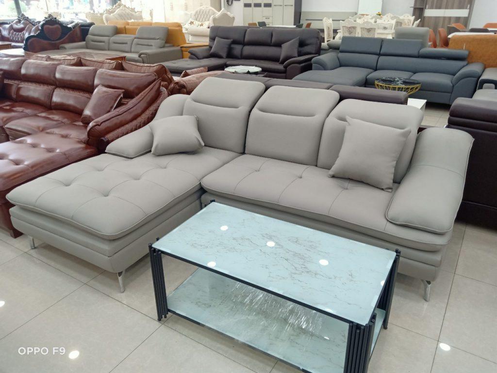 Sofa da thanh lý TL-107