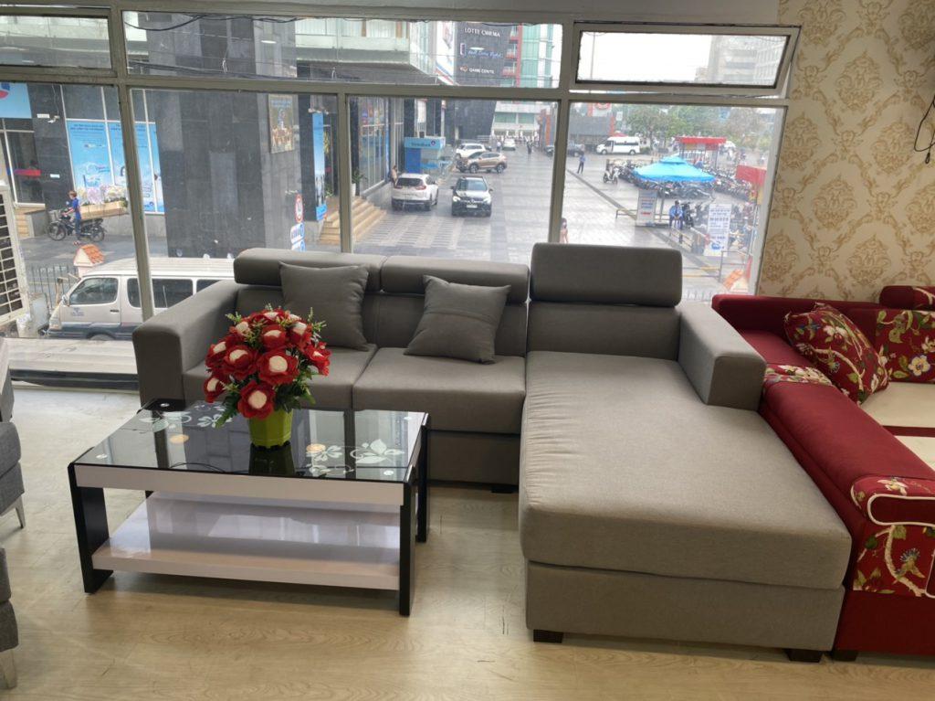 Ghế sofa da bò thanh lý TL-108