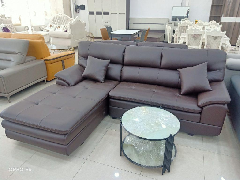 Sofa góc da TL-119