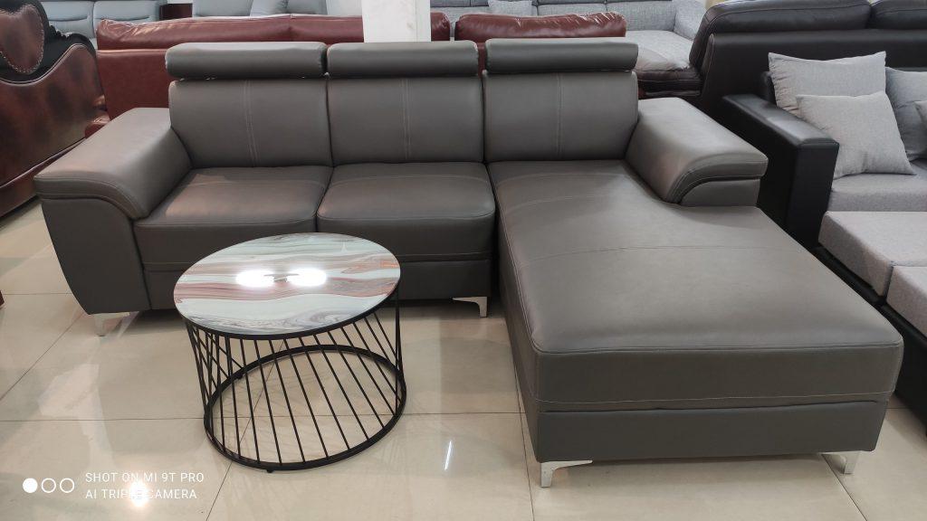 Sofa da thanh lý TL-137