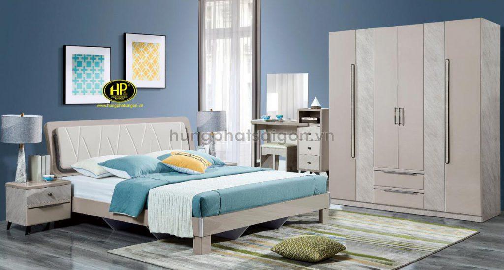 Combo giường tủ bàn phấn hiện đại AT-9209