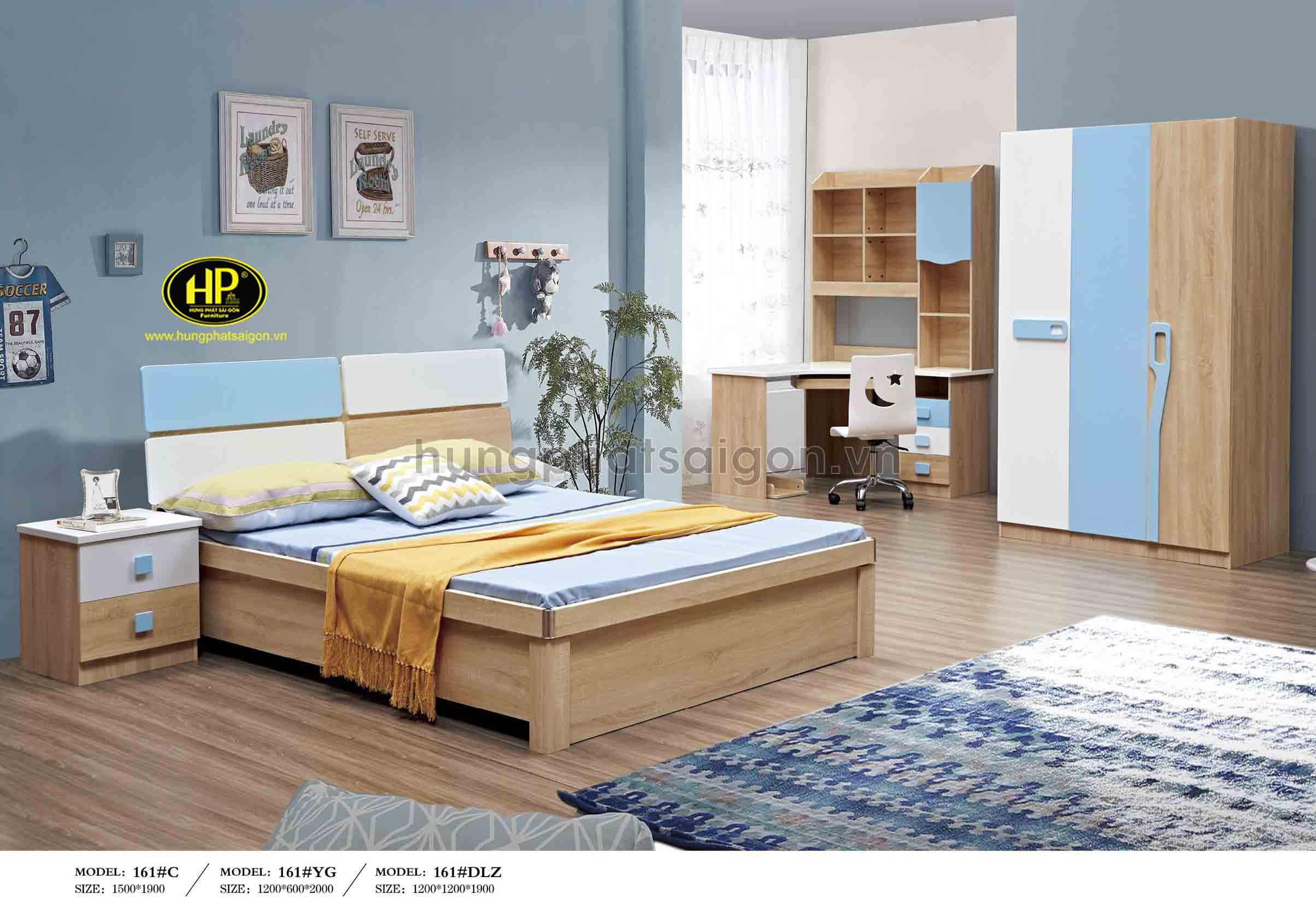 Bộ giường tủ bàn phấn cao cấp TP-161