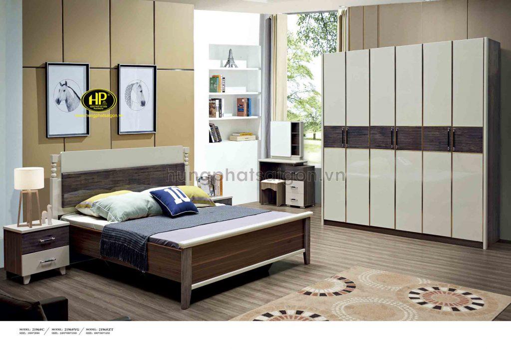 Bộ giường tủ bàn trang điểm Đài Loan TP-2196