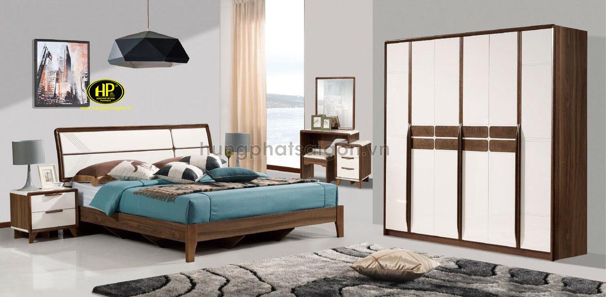 Bộ nội thất phòng ngủ hiện đại AT-8301