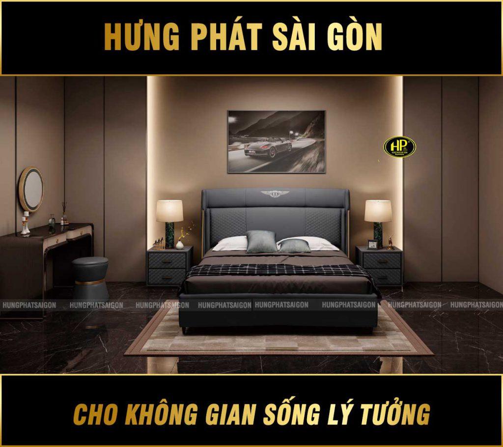 Combo giường bàn phấn hiện đại TP-Y006