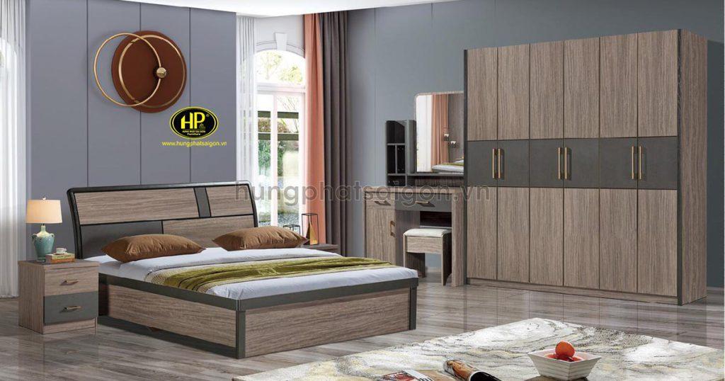 Combo giường tủ bàn phấn hiện đại TP-2032