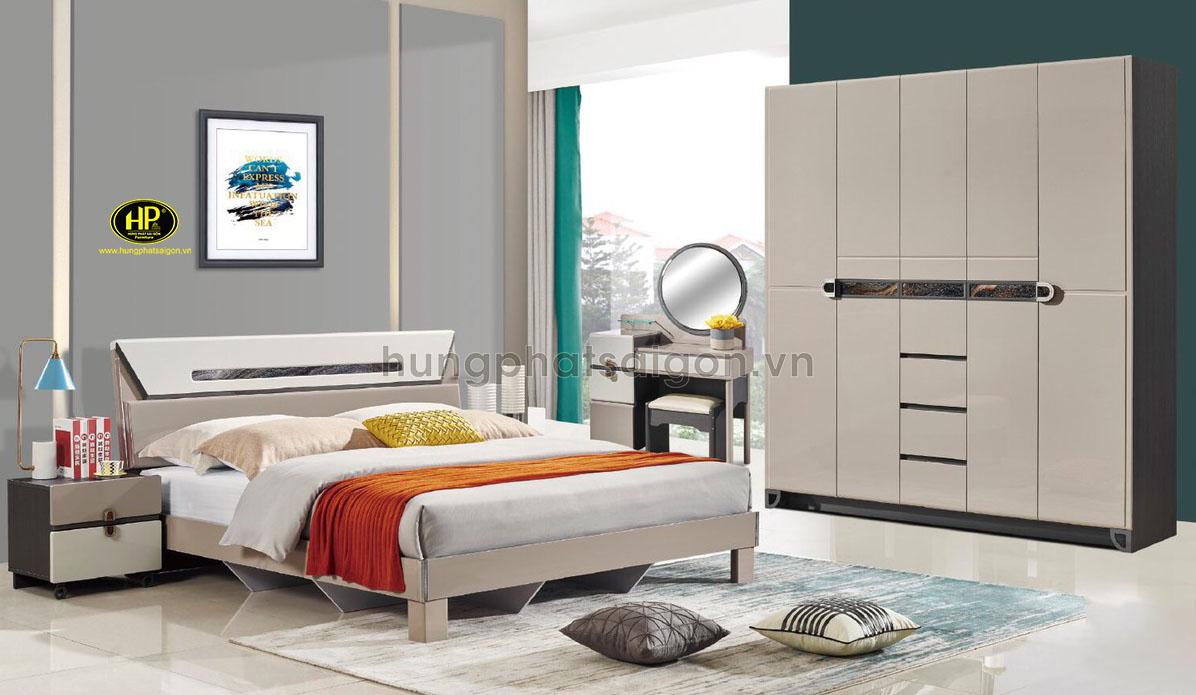 Combo phòng ngủ hiện đại tặng kèm bàn phấn AT-9303