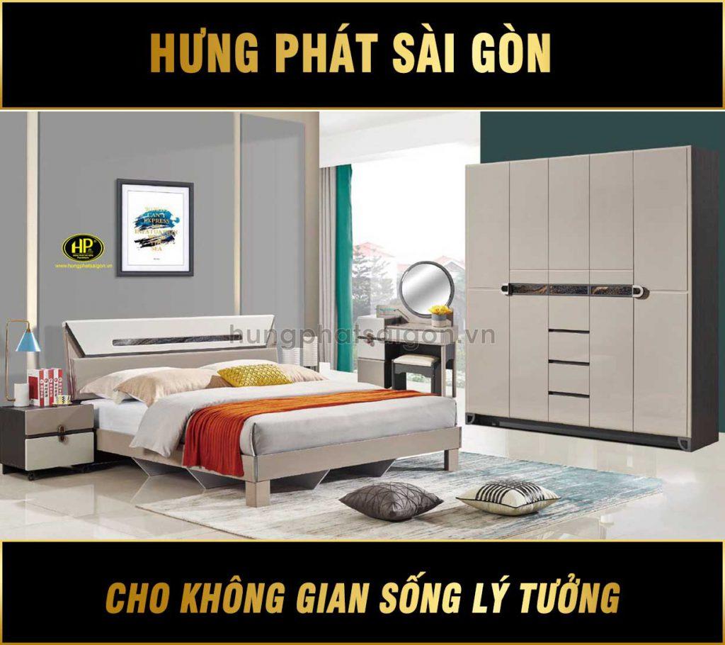 Combo phòng ngủ hiện đại tặng kèm táp AT-9303
