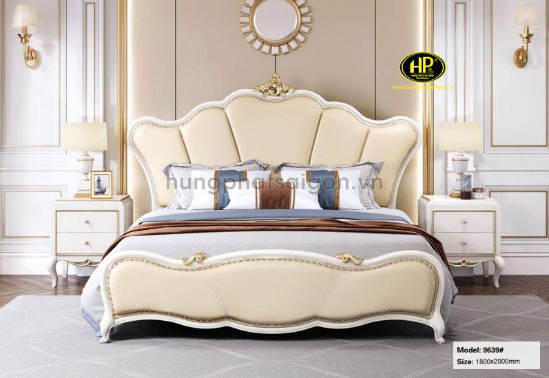 Giường ngủ bọc da hiện đại AT-9639