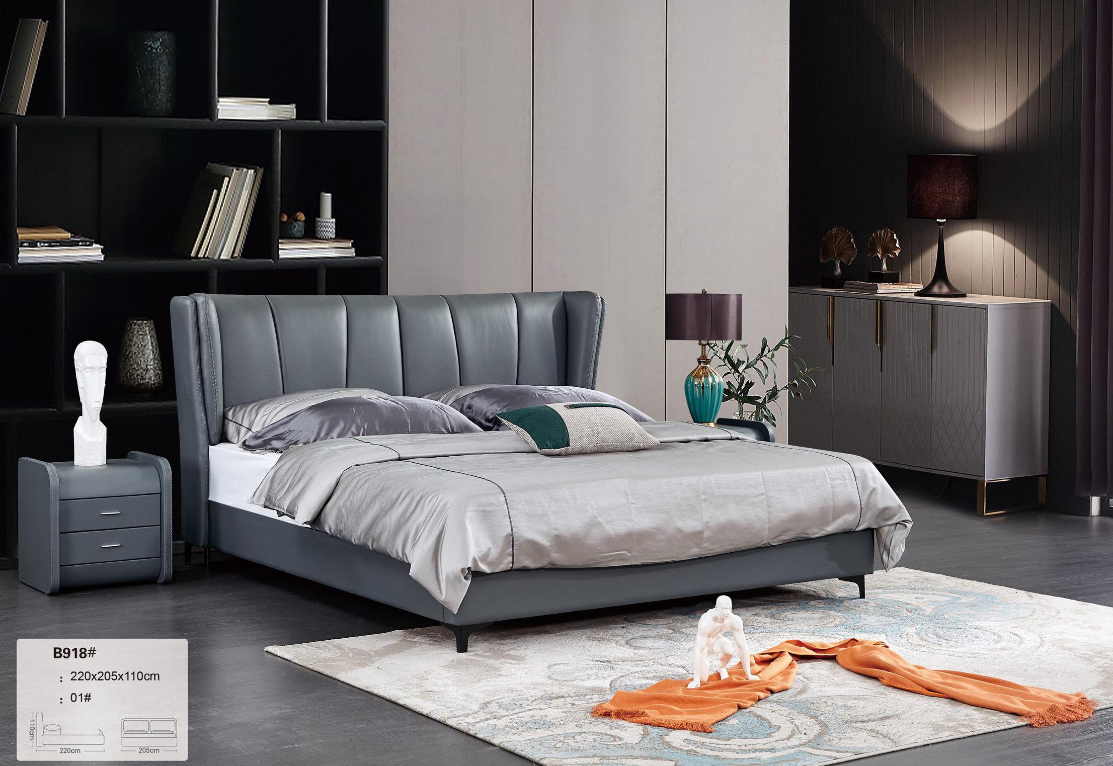Giường ngủ bọc da hiện đại TP-B918