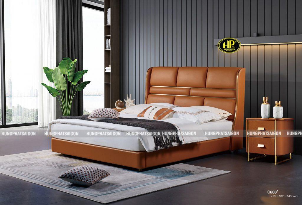 Giường ngủ hiên đại TP-C688
