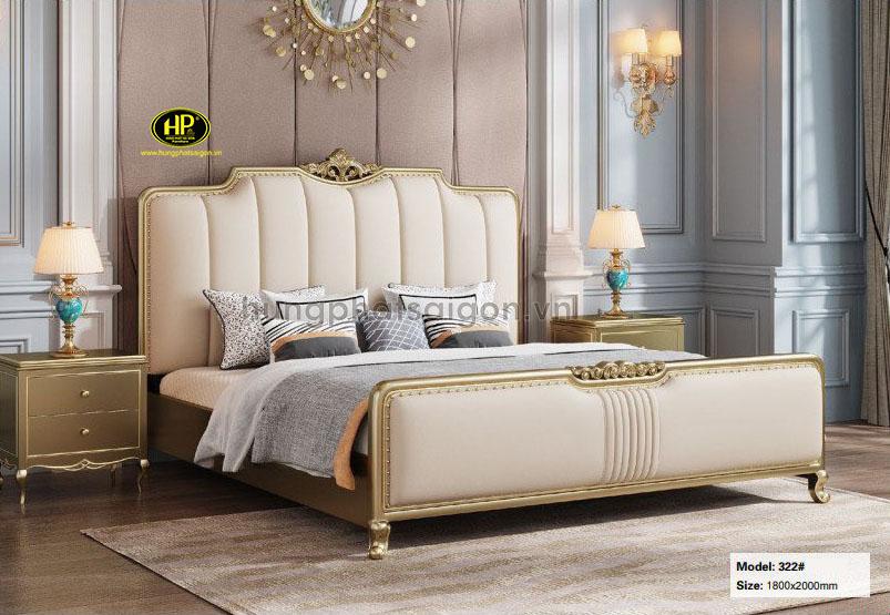 Giường ngủ hiện đại cao cấp AT-322
